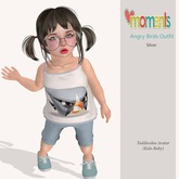 ..MoMenTs..Angry Birds Outfit(Silver)Toddleedoo