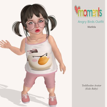 ..MoMenTs..Angry Birds Outfit(Matilda)Toddleedoo