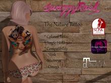 [SR] The Nature Tattoo - Slink Maitreya Omega
