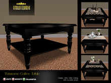 Invidah* Winsome Coffee Table (Black)