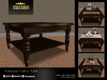 Invidah* Winsome Coffee Table (Brown)