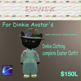Complete Dinkie Outfit Easter (box)
