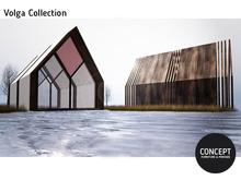 concept}Volga House - wood