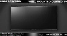 [UG MESH] DAE WALL MOUNTED CURVE TV