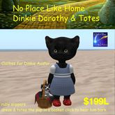 No Place Like Home Dorothy Dinkie Outfit(box)