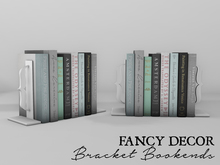 Fancy Decor: Bracket Bookends