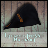 .SS. Leftenant's Fore and Aft Bicorne