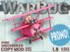 Warbug dreidecker pink mp label