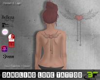 B*FLY Dangling Love Tattoo