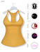 Gawk! Yellow Basic Tank Top incl. Appliers for #TheMeshProject, Maitreya Lara, Slink Physique & Omega System