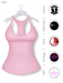 GAWK! Pastel Pink Basic Tank Top | BoM & Appliers for Maitreya, Slink Physique, TMP & Omega System