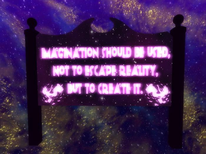 Imagination Sign