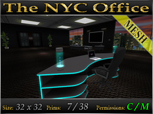 "The NYC Office - Skybox *Furnished"" MESH"