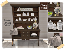 Leeloo Carving Cabinet ♥ CHEZ MOI