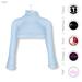 GAWK! Blue Cozy Mini Sweatshirt | BoM & Appliers for Maitreya, Slink Physique, TMP & Omega System