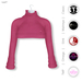 Gawk! Pink Cozy Mini Sweatshirt incl. Appliers for #TheMeshProject, Maitreya Lara, Slink Physique & Omega System
