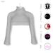 Gawk! Grey Cozy Mini Sweatshirt incl. Appliers for #TheMeshProject, Maitreya Lara, Slink Physique & Omega System