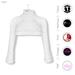GAWK! White Cozy Mini Sweatshirt | BoM & Appliers for Maitreya, Slink Physique, TMP & Omega System