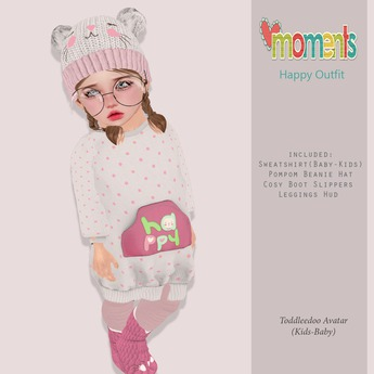 ..MoMenTs..HaPpy Outfit [Pink]Toddleedoo