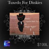 Complete Tuxedo For Male Dinkies (Box)