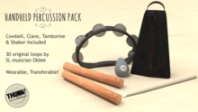 Thunk! Handheld Percussion Pack