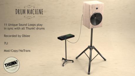 Thunk! MPC Drum Machine