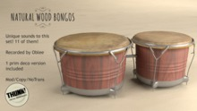 Thunk! Wood Bongos