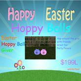 Easter Hoppy Ball Giver