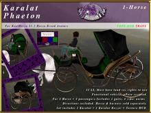 *E* Karalat Phaeton 1-Horse [RH 15.2] BOXED