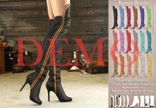[DEMO] Mutresse . Kaisia Boots - 18 Colors for Slink/Maitreya/Belleza/Standard Avatar