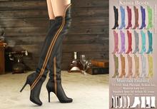 Mutresse . Kaisia Boots - 18 Colors for Slink/Maitreya/Belleza/Standard Avatar