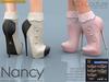 -KC- NANCY HEELS / MAITREYA, SLINK HIGH, BELLEZA, EVE, TMP