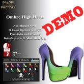 IMaGE Factory Ombre Heels Demo
