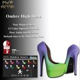 IMaGE Factory Ombre Heels