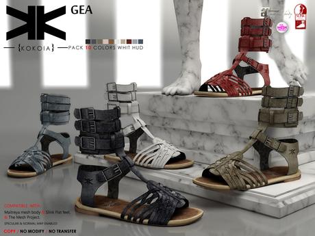 Gea :: Shoes :: 10 Colors :: {kokoia}