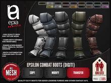 (epia) - Anthro Furry Boots DEMO