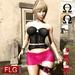 :: FLG Penny Corselet & Mini Skirt + HUD 10 Models ::