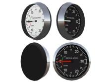 Full Perm Scripted Mesh Aircraft VSI 0.5li (Instrument - Gauge - Vertical Speed Indicator- Avionics)