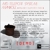 MD Teleport System - Manhole DEMO