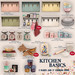 -tb- Kitchen Basics - Shelf (Blue)