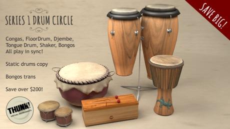 Thunk! Series 1 Drum Circle