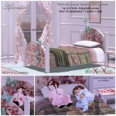 """Aphrodite """"Butterfly Dreams"""" kids bed"""