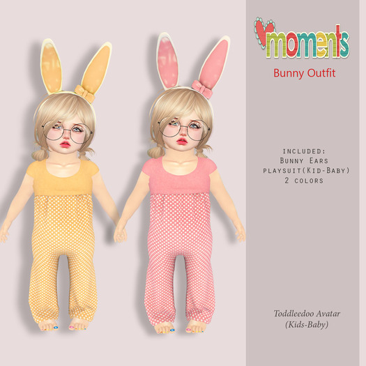 ..MoMenTs..Bunny OutFit Easter Gift
