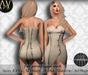 .:Vitrimi:. Leaf Inspired Dress Full Perm