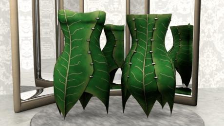 .:Vitrimi:. Leaf Inspired Dress Store Gift!