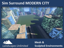 Sim Surround MODERN CITY (Full sim surround)
