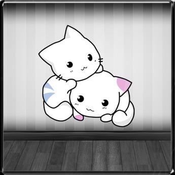 *~LT~*  Playful Kittys Wall Art Decal