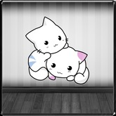 *~LT~*  Playful Kittys Wall Art Decal