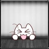 *~LT~*  Cheeky Kitty Wall Art Decal