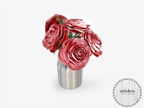 Ariskea[Nordica] Hybrid Roses Cherry